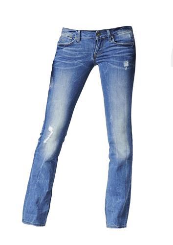 star 3301 straight jeans damen comfort eslow denim medium aged. Black Bedroom Furniture Sets. Home Design Ideas