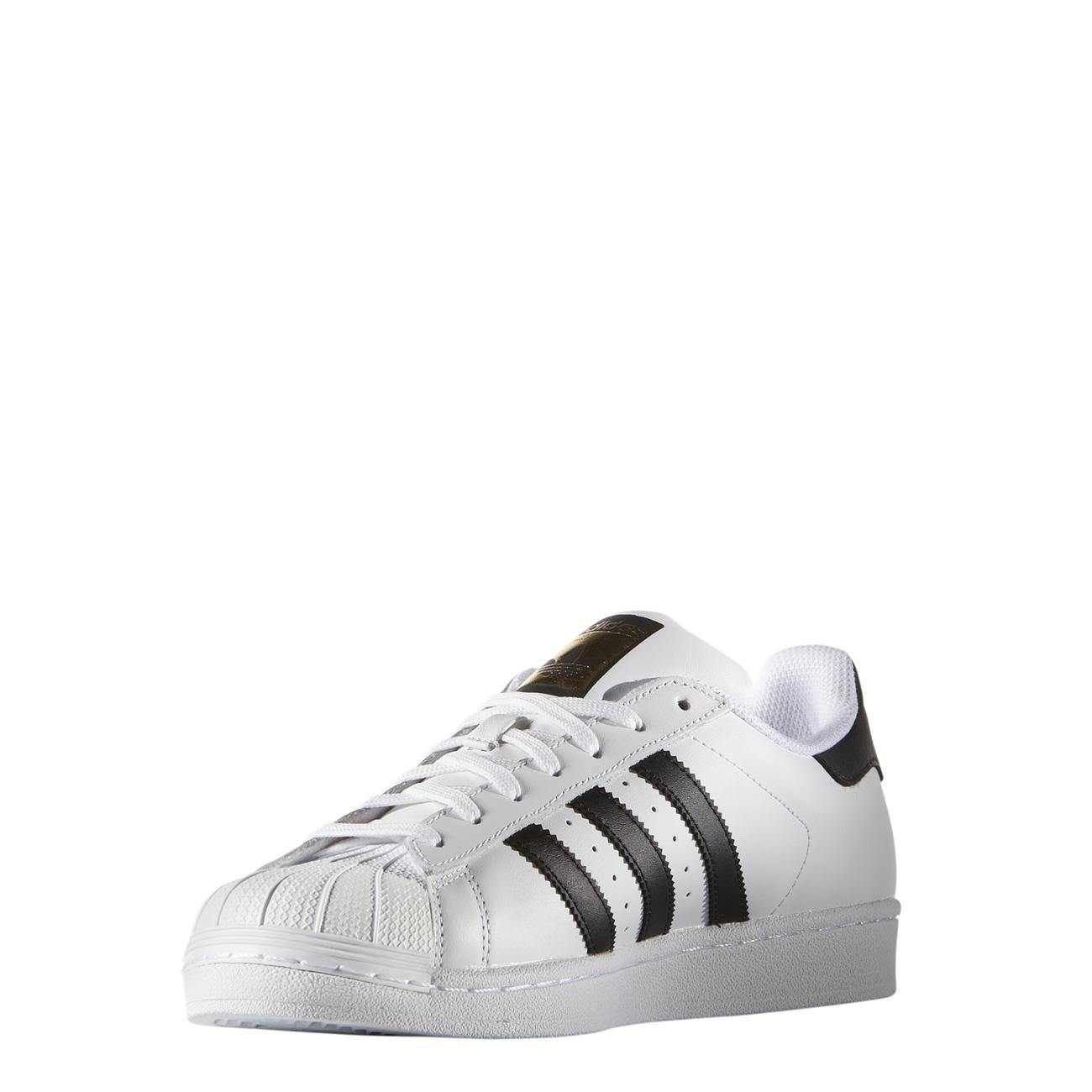ADIDAS Originals Superstar weiss schwarz schwarz schwarz Old School Vintage Sneaker C77124 NEU 96cb2d