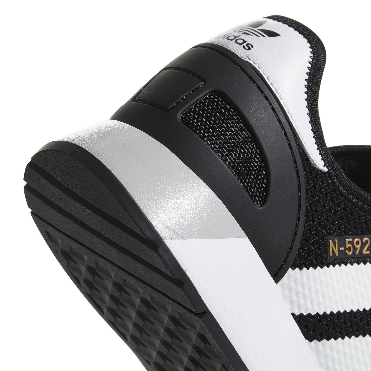 Adidas Iniki Runner N-5923 Schuh Halbschuh Schwarz Weiss Grau Sneaker CQ2337 NEU
